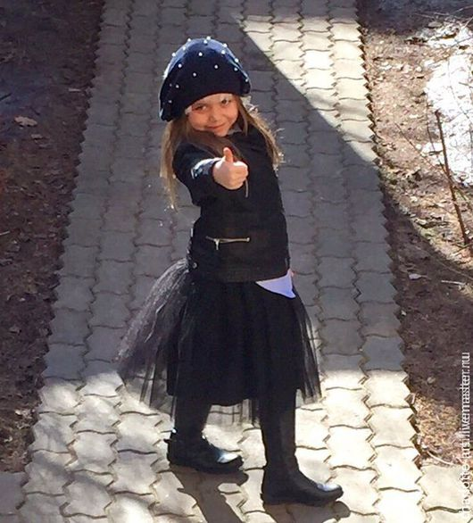 Одежда для девочек, ручной работы. Ярмарка Мастеров - ручная работа. Купить Юбка-пачка из фатина для девочки Черная. Handmade. Черный