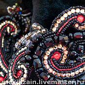 Одежда ручной работы. Ярмарка Мастеров - ручная работа куртка RED & BLACK. Handmade.