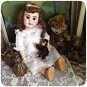Винтаж ручной работы. Ярмарка Мастеров - ручная работа Steiff винтажная обезьянка для антикварной куклы. Handmade.