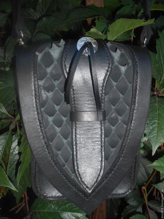 Мужские сумки ручной работы. Ярмарка Мастеров - ручная работа. Купить Сумка,кожа. Handmade. Черный, кожа, кожа натуральная