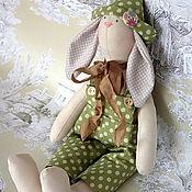 Куклы и игрушки ручной работы. Ярмарка Мастеров - ручная работа Тильда-зайка дружок. Handmade.