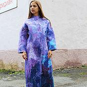 """Одежда ручной работы. Ярмарка Мастеров - ручная работа Пальто """"Лиловая мечта"""". Handmade."""