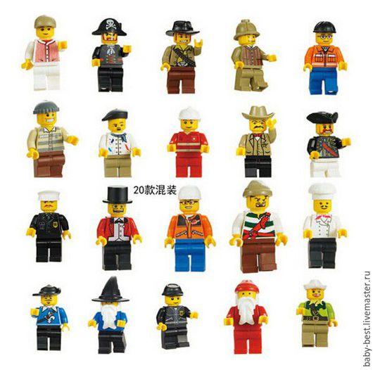 Лего человечки. Любой - 160 руб.