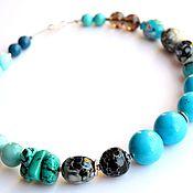 Украшения handmade. Livemaster - original item Necklace turquoise No4. Handmade.