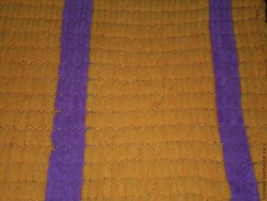 Пледы и одеяла ручной работы. Ярмарка Мастеров - ручная работа. Купить Детский плед из помпонов на детскую кроватку. Handmade. плед