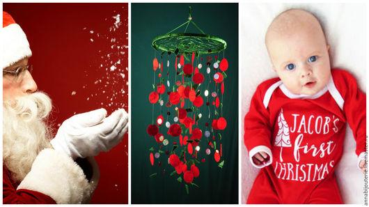 Ловцы снов ручной работы. Ярмарка Мастеров - ручная работа. Купить Christmas Baby Mobile handmade green Dreamcatcher bedroom red Baby Mob. Handmade.