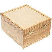 Сувениры и подарки handmade. Livemaster - original item The box is made of pine, tea. Handmade.