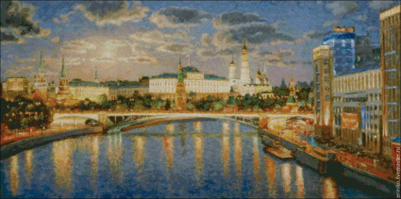 Вышивка кремль схема