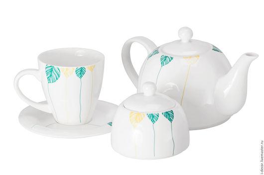 Заварочный чайник из коллекции Шары Фарфоровая посуда
