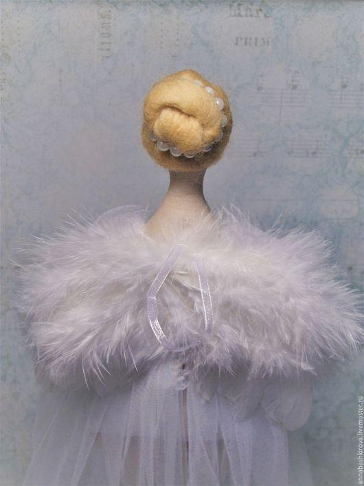 Игрушки Башкировой Анны, Мастерская Мамы, Одетта - Белый лебедь, балерина, кукла, Тильда
