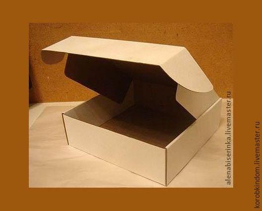 Упаковка ручной работы. Ярмарка Мастеров - ручная работа. Купить Коробочки из микрогофрокартона (разные размеры). Handmade. Коробочка, коробка для мыла
