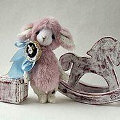 Куклы и игрушки ручной работы. Ярмарка Мастеров - ручная работа Овечка Тедди розовая друг Мишки Тедди. Handmade.