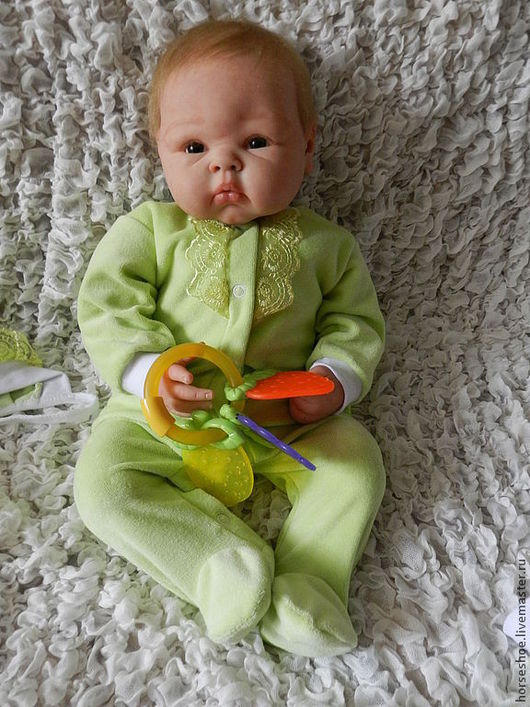 Куклы-младенцы и reborn ручной работы. Ярмарка Мастеров - ручная работа. Купить малышка  Paris. Handmade. Пэрис, реборн на заказ
