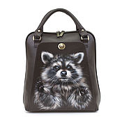 Сумки и аксессуары handmade. Livemaster - original item Backpack bag