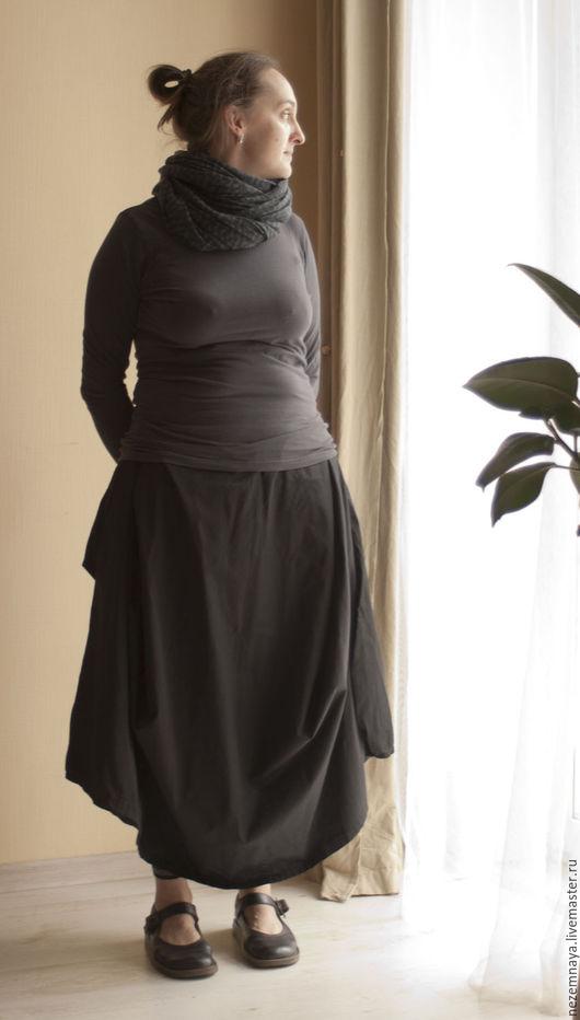 Юбки ручной работы. Ярмарка Мастеров - ручная работа. Купить Любимая юбка. Handmade. Тёмно-синий, оригинальный дизайн