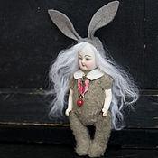 Куклы и игрушки ручной работы. Ярмарка Мастеров - ручная работа Mini Rabbit. Handmade.