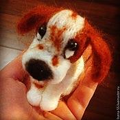 Куклы и игрушки ручной работы. Ярмарка Мастеров - ручная работа Собачка Спаниелька. Handmade.