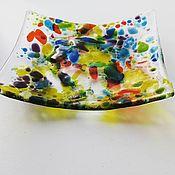 handmade. Livemaster - original item A plate of Sunny day. Handmade.