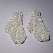 Работы для детей, handmade. Livemaster - original item Socks knitted children Mermaids. Handmade.