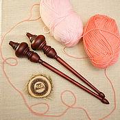 Материалы для творчества handmade. Livemaster - original item Hanging wooden Spindles Siberian Cedar Spindles Kit #BN4. Handmade.