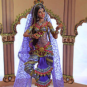 Куклы и игрушки ручной работы. Ярмарка Мастеров - ручная работа Кукла Индианка. Handmade.