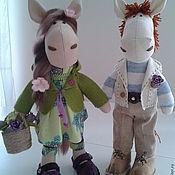 Куклы и игрушки ручной работы. Ярмарка Мастеров - ручная работа Парочка лошадок. Handmade.
