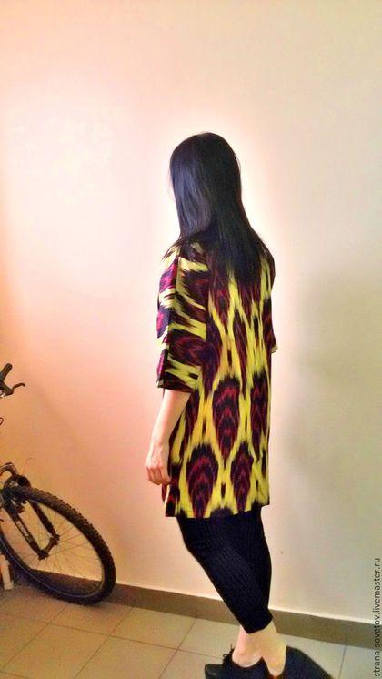 Верхняя одежда ручной работы. Ярмарка Мастеров - ручная работа. Купить Летнее пальто. Handmade. Комбинированный, весна, женщине, бекосаб