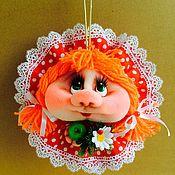 Куклы и игрушки handmade. Livemaster - original item doll Popik on good luck. Handmade.