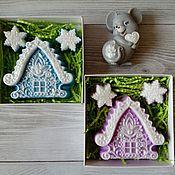 Косметика ручной работы handmade. Livemaster - original item Soap House Christmas. Handmade.
