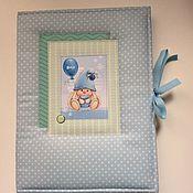 Подарки к праздникам ручной работы. Ярмарка Мастеров - ручная работа Папка для свидетельства о рождении. Handmade.