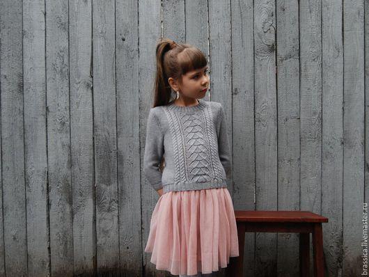 Детский пуловер для девочек доставка