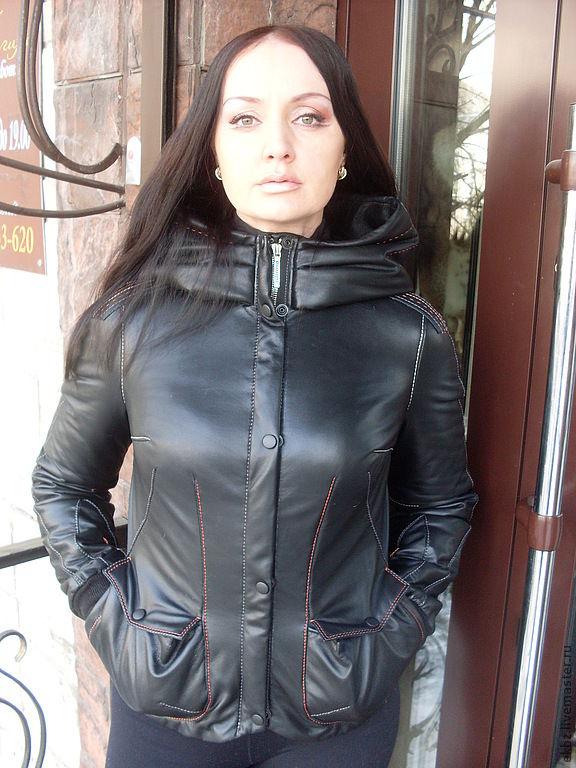 Куртка на молнии своими руками