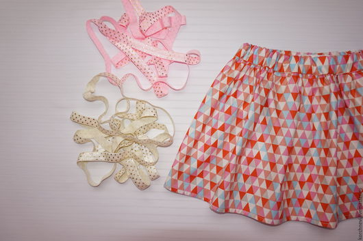 Одежда для девочек, ручной работы. Ярмарка Мастеров - ручная работа. Купить Юбочка из американского хлопка. Handmade. Американский хлопок 100%