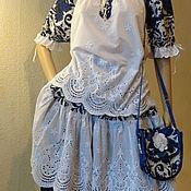 Одежда handmade. Livemaster - original item The skirt and top BOHEMIAN