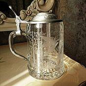 Vintage mugs handmade. Livemaster - original item Beer mug