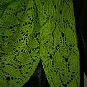 Бактус с бисером связаный на спицах от Маруси
