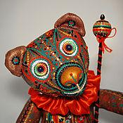 Куклы и игрушки ручной работы. Ярмарка Мастеров - ручная работа Карнавальный медведь ЛУИДЖИ. Handmade.