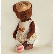 """Куклы и игрушки ручной работы. Ярмарка Мастеров - ручная работа Милая """"собачка"""". Handmade."""