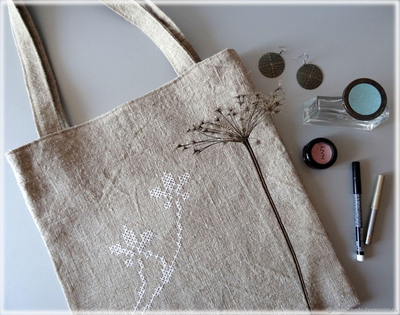 32a12ad8cb8f ... Сумки и аксессуары ручной работы. Заказать Эко-сумка из мешковины  'Тёплое лето' ...