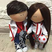 Куклы и игрушки ручной работы. Ярмарка Мастеров - ручная работа Портретные куклы.. Handmade.