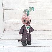 Куклы и игрушки ручной работы. Ярмарка Мастеров - ручная работа Заяц Джокер. Handmade.