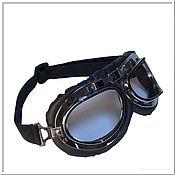 Субкультуры handmade. Livemaster - original item Moto glasses steel glass transparent for stand project no №1. Handmade.