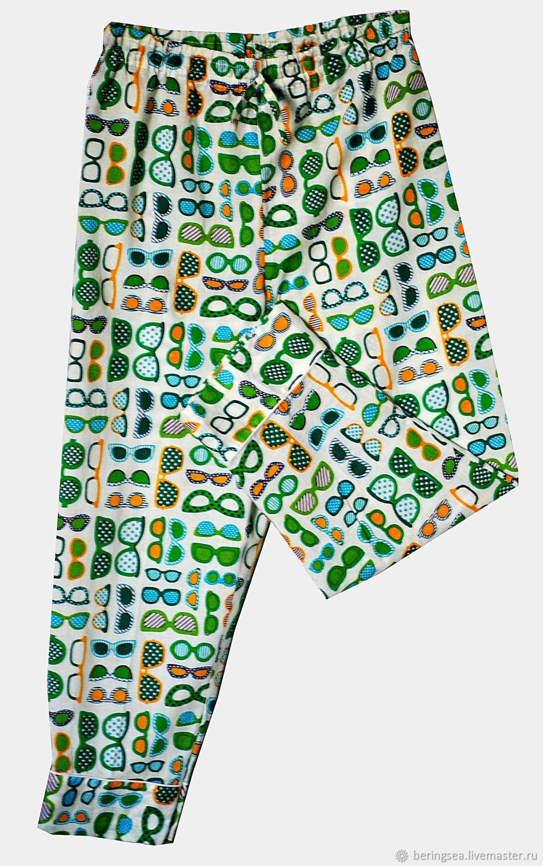 Пижама для девочки «Очки»