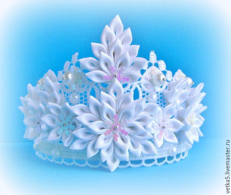 Новогодняя детская корона