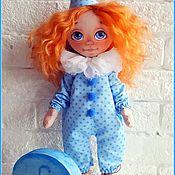 Куклы и игрушки ручной работы. Ярмарка Мастеров - ручная работа Девочка и слон. Handmade.