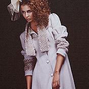 Одежда ручной работы. Ярмарка Мастеров - ручная работа Элегантное пальто в ретро стиле. Handmade.