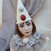 Куклы и игрушки ручной работы. Ярмарка Мастеров - ручная работа Пьеро(продан). Handmade.