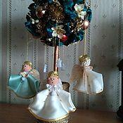 Елочные игрушки ручной работы. Ярмарка Мастеров - ручная работа Ангелочки. Handmade.