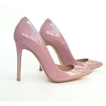 """Обувь ручной работы. Ярмарка Мастеров - ручная работа Туфли """"Пыльная роза """". Handmade."""