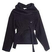 Одежда handmade. Livemaster - original item Jacket of thick wool fabric for lining. Handmade.